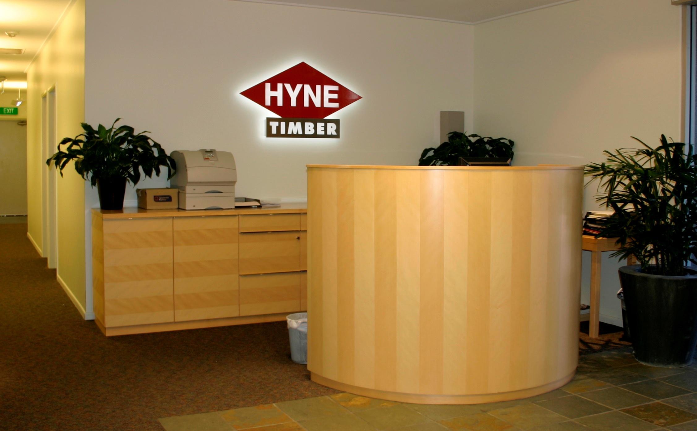 Hyne reception