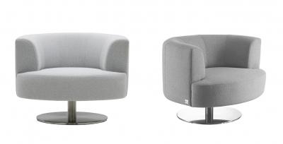 Neo swivel armchair