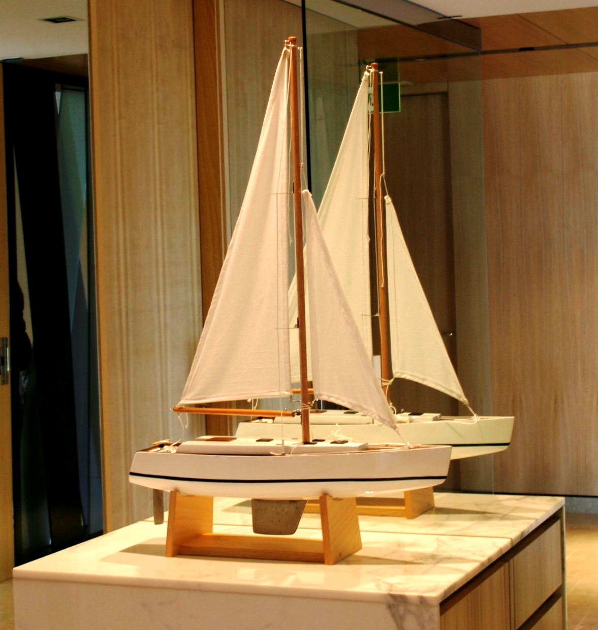 'Laine' the Swan 53 1:25 scale model
