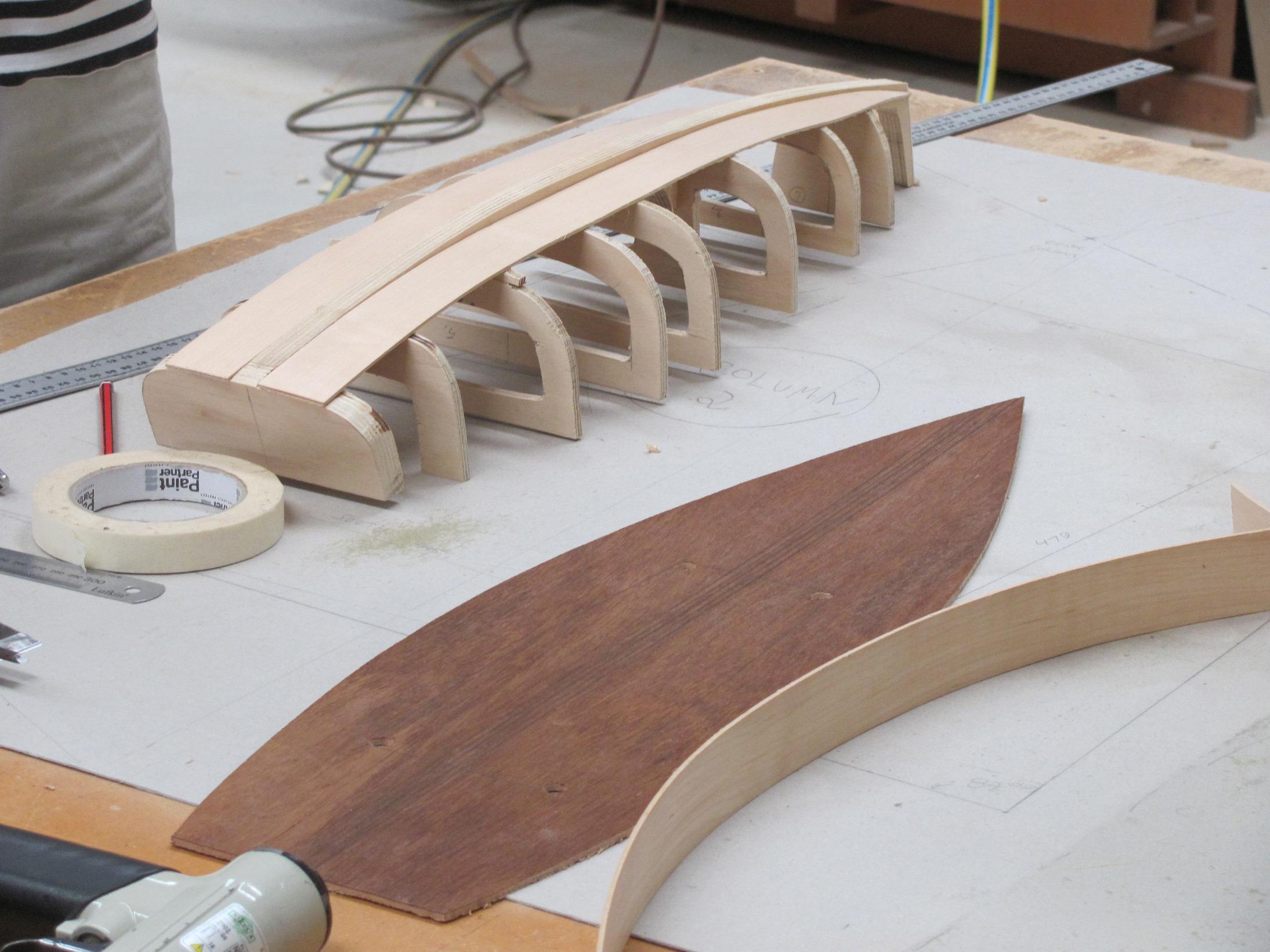 Swan 53 model in progress