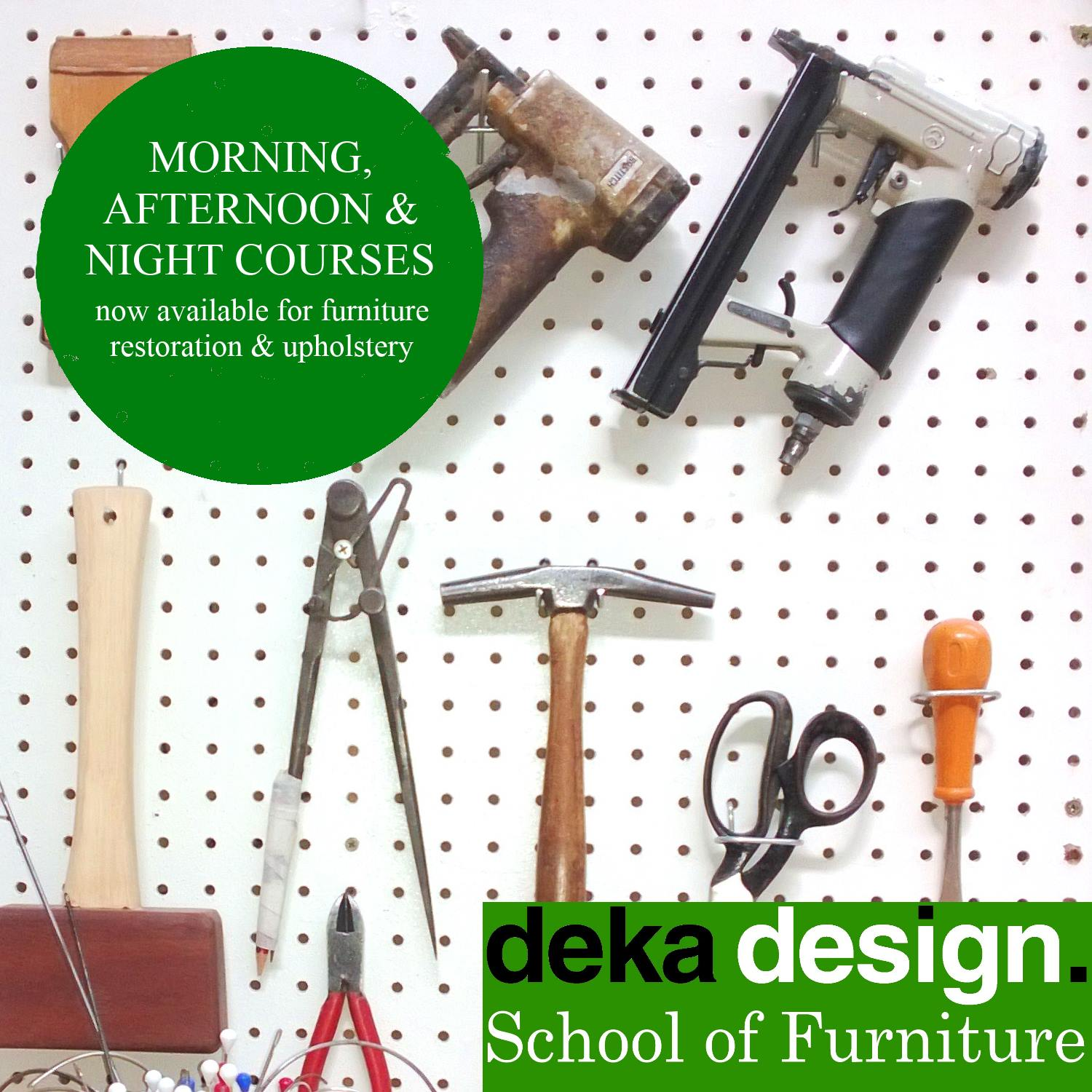 Furniture restoration and upholstery courses lasse kinnunen for Furniture upholstery course