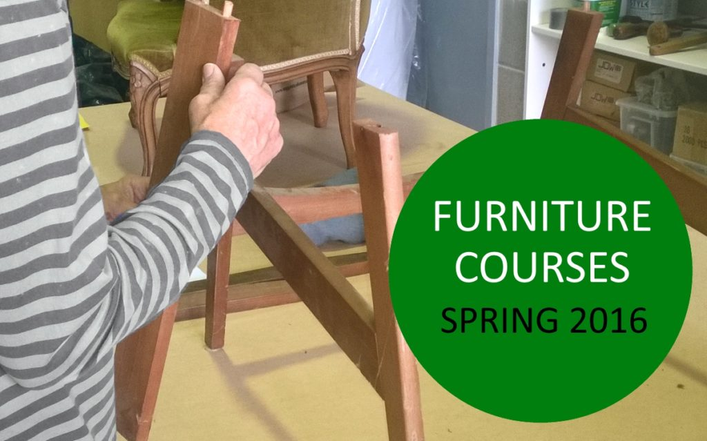 Furniture restoration courses